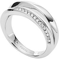anello donna gioielli Fossil Classics JF03019040503