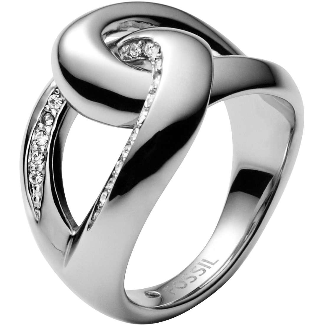 anello donna gioielli Fossil JF00163040503