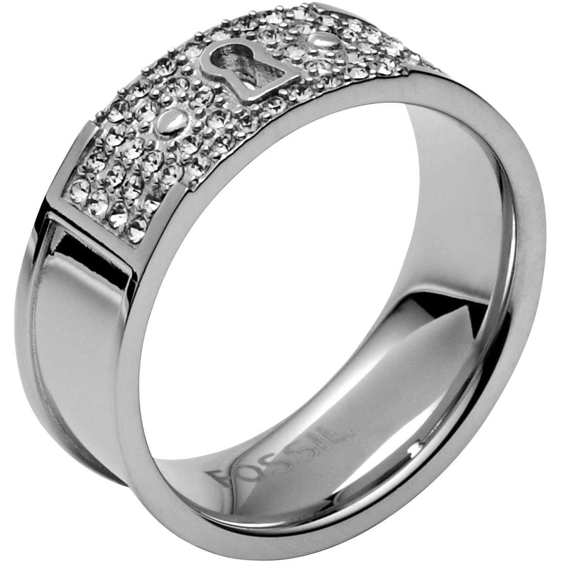 anello donna gioielli Fossil JF00193040505