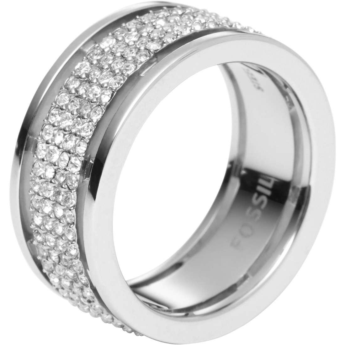 anello donna gioielli Fossil JF00442040505