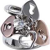anello donna gioielli Fossil JF83467040503