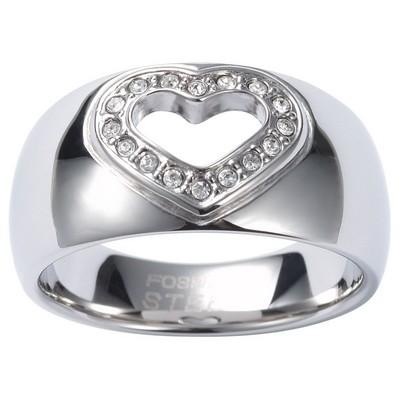 anello donna gioielli Fossil JF84110040504
