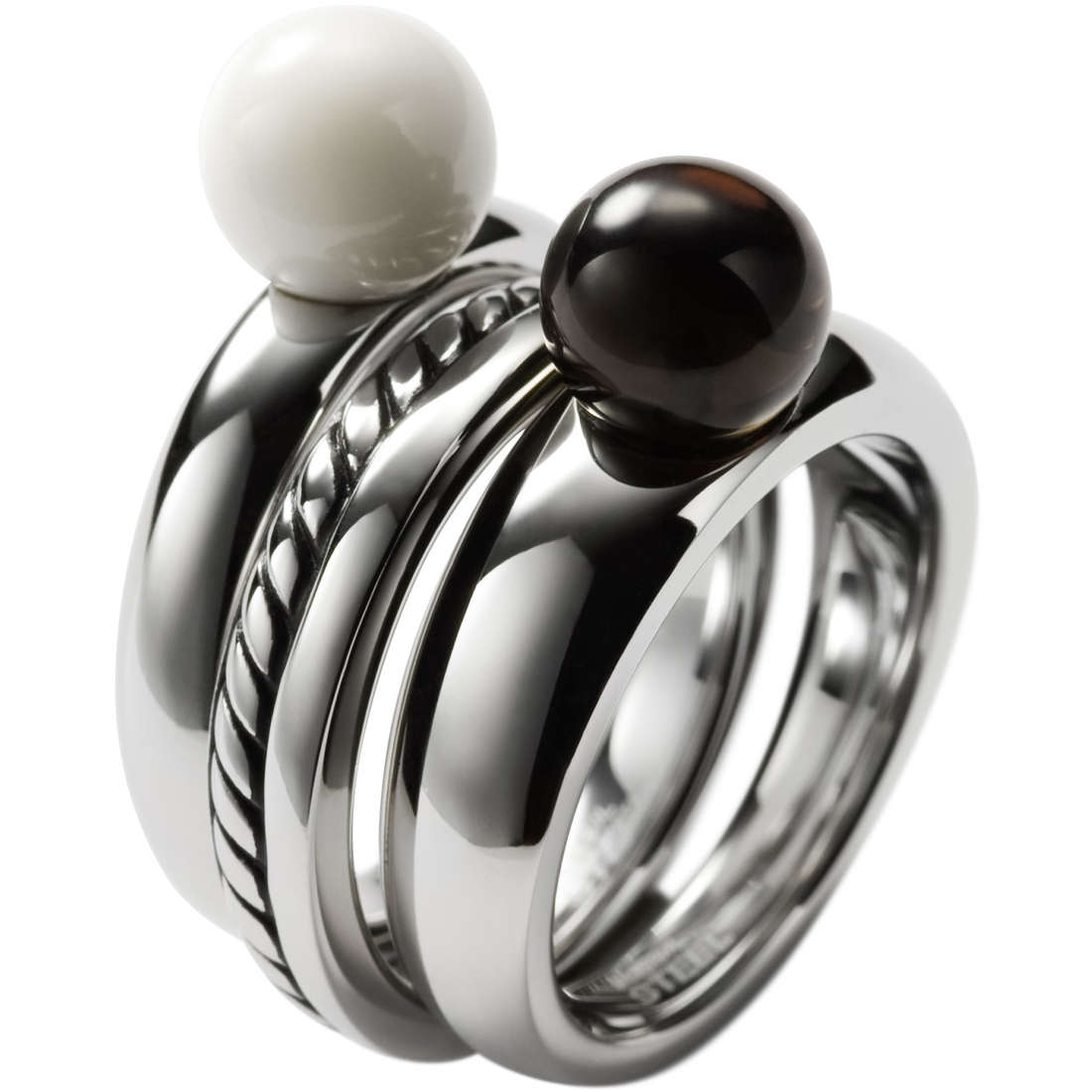 anello donna gioielli Fossil JF85551040504