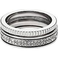 anello donna gioielli Fossil Spring 16 JF02239040508