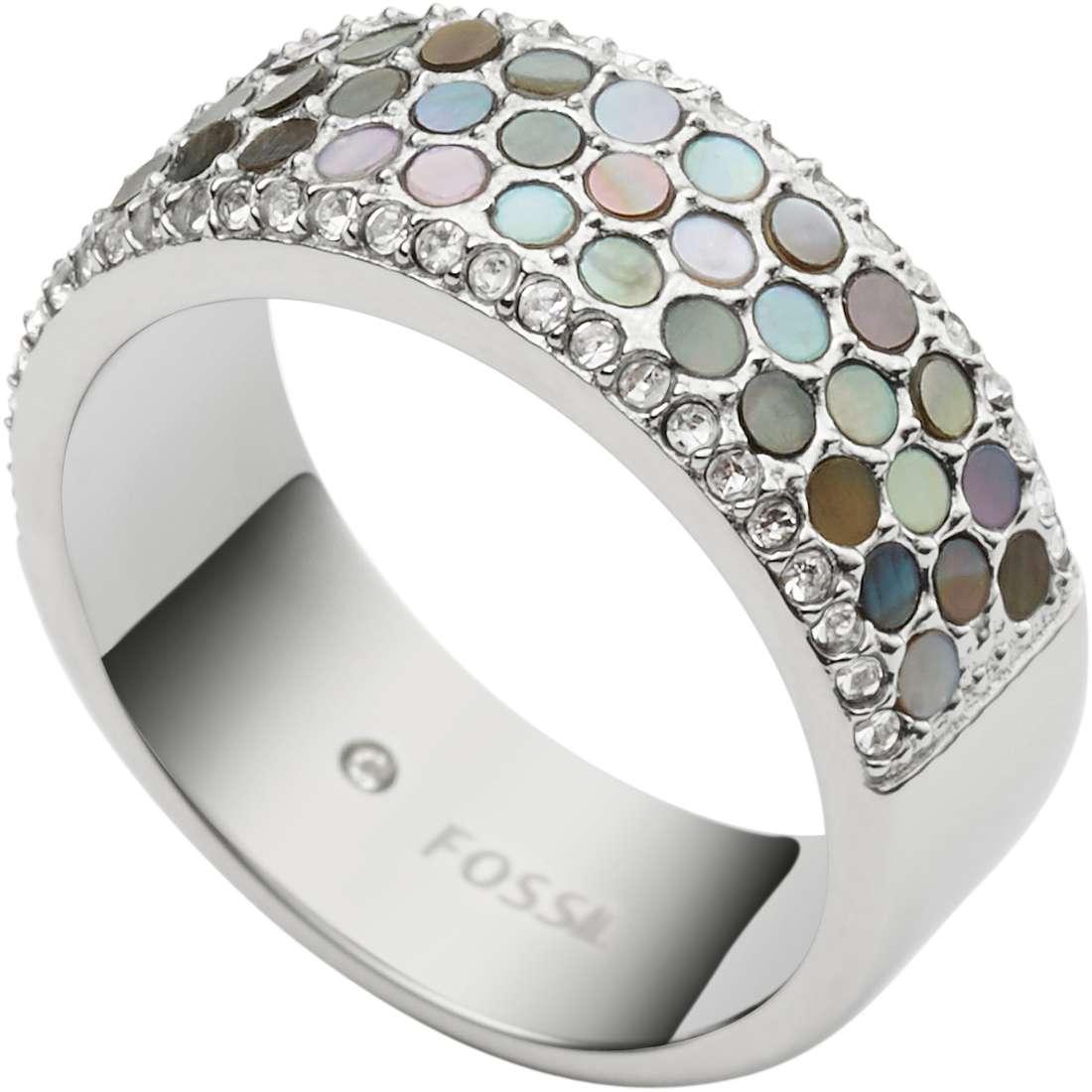 anello donna gioielli Fossil Vintage Glitz JF02313040505