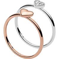 anello donna gioielli Fossil Vintage Motifs JF02858998503