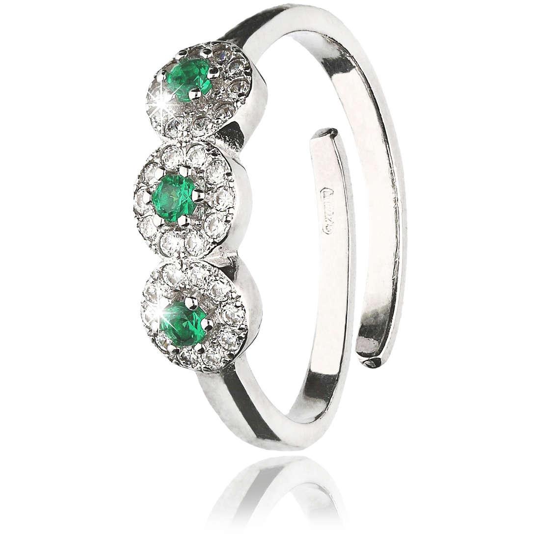 anello donna gioielli GioiaPura GPSRSAN2391-VE