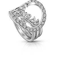 anello donna gioielli Guess Authentics UBR85049-54