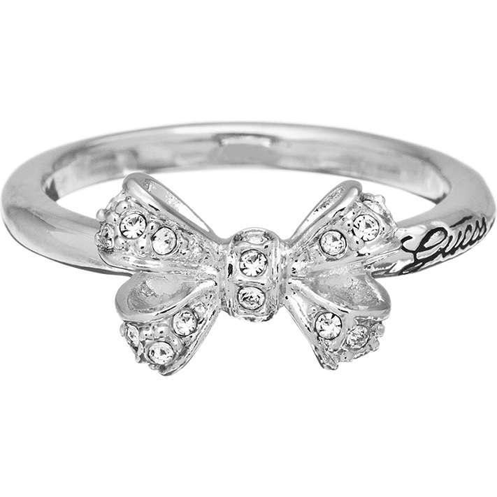 anello donna gioielli Guess CHARMING ATTITUDE UBR51406-54