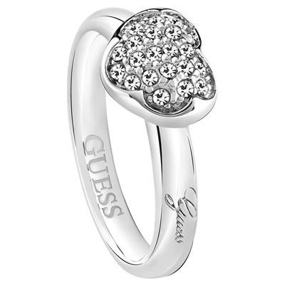 anello donna gioielli Guess Heartshelter UBR72501-54