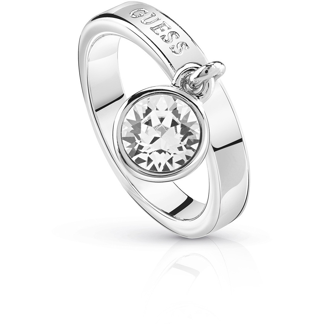 section spéciale style moderne style classique de 2019 anello donna gioielli Guess Hoops I Did It Again UBR84022-50