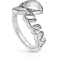anello donna gioielli Guess Hoops I Did It Again UBR84024-58