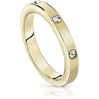 anello donna gioielli Guess Hoops I Did It Again UBR84027-56