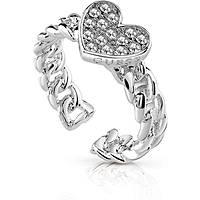 anello donna gioielli Guess Love Chain UBR84035-52