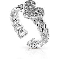 anello donna gioielli Guess Love Chain UBR84035-56