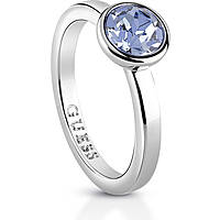 anello donna gioielli Guess Miami UBR83020-52