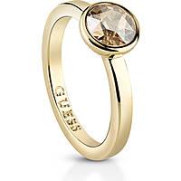 anello donna gioielli Guess Miami UBR83021-52