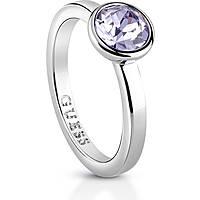 anello donna gioielli Guess Miami UBR83023-54
