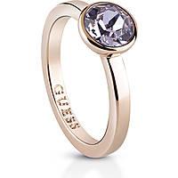 anello donna gioielli Guess Miami UBR83028-52