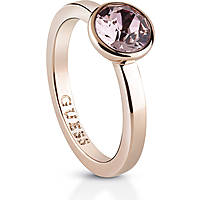 anello donna gioielli Guess Miami UBR83031-50