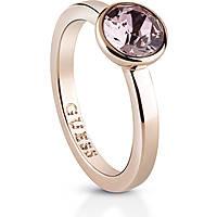 anello donna gioielli Guess Miami UBR83031-52