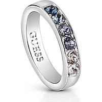 anello donna gioielli Guess Miami UBR83034-52