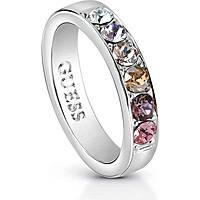 anello donna gioielli Guess Miami UBR83037-54