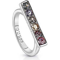 anello donna gioielli Guess Miami UBR83041-52
