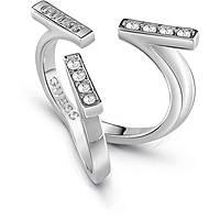 anello donna gioielli Guess Million Hearts UBR85046-52