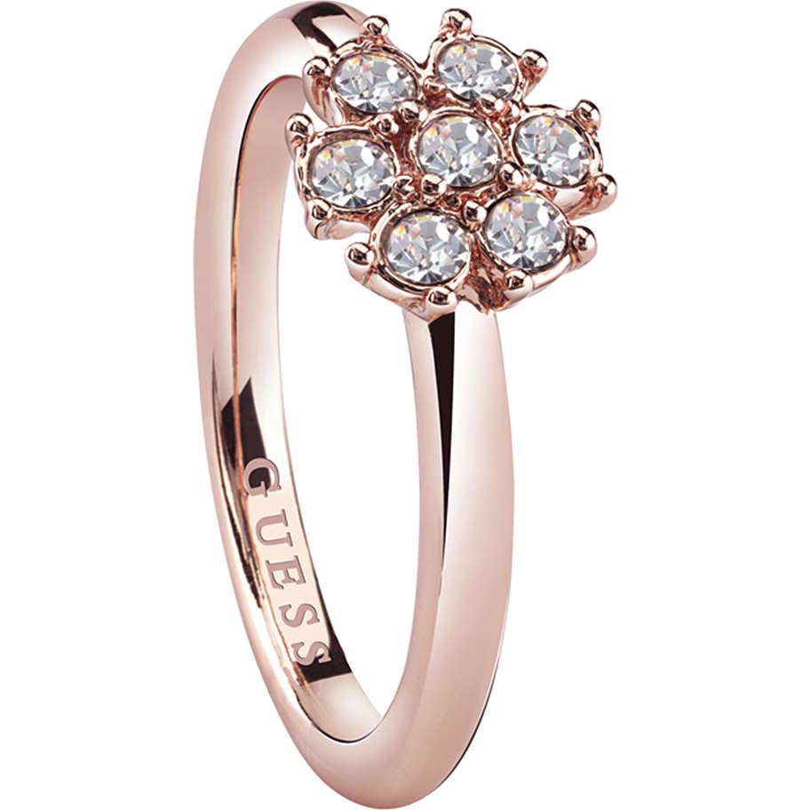 anello donna gioielli Guess Rose Gold UBR28519-54