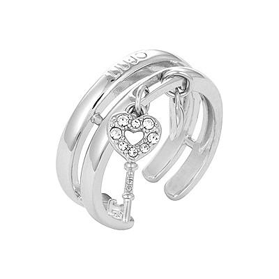 anello donna gioielli Liujo Ag 925 ALJ010