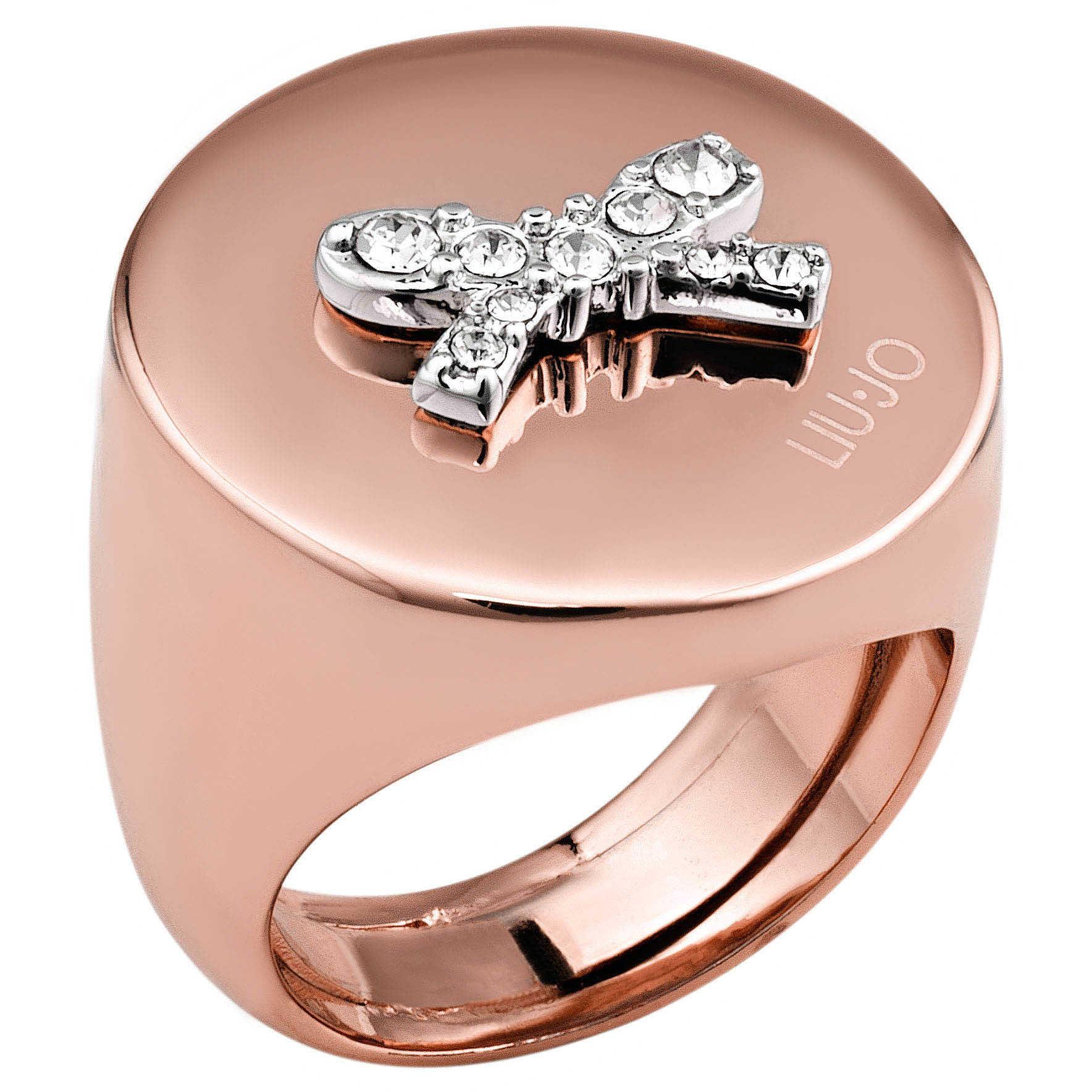 anello donna gioielli Liujo Destini LJ1005 anelli Liujo 94bdb508305