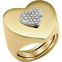 anello donna gioielli Liujo Destini LJ1007