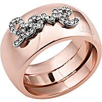 anello donna gioielli Liujo Destini LJ1011