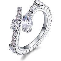 anello donna gioielli Luca Barra Brilliant Time LBANK154