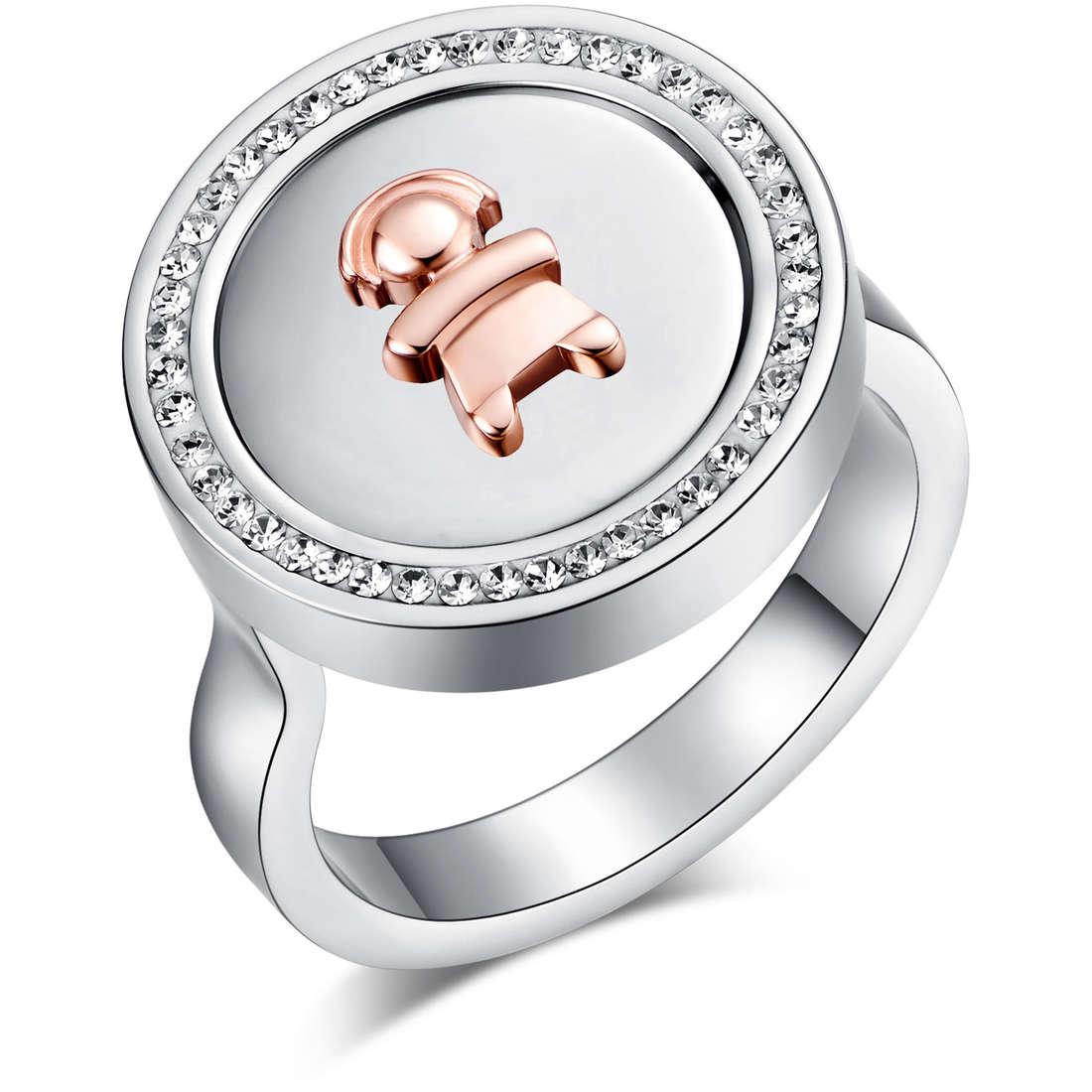 anello donna gioielli Luca Barra LBANK101.19