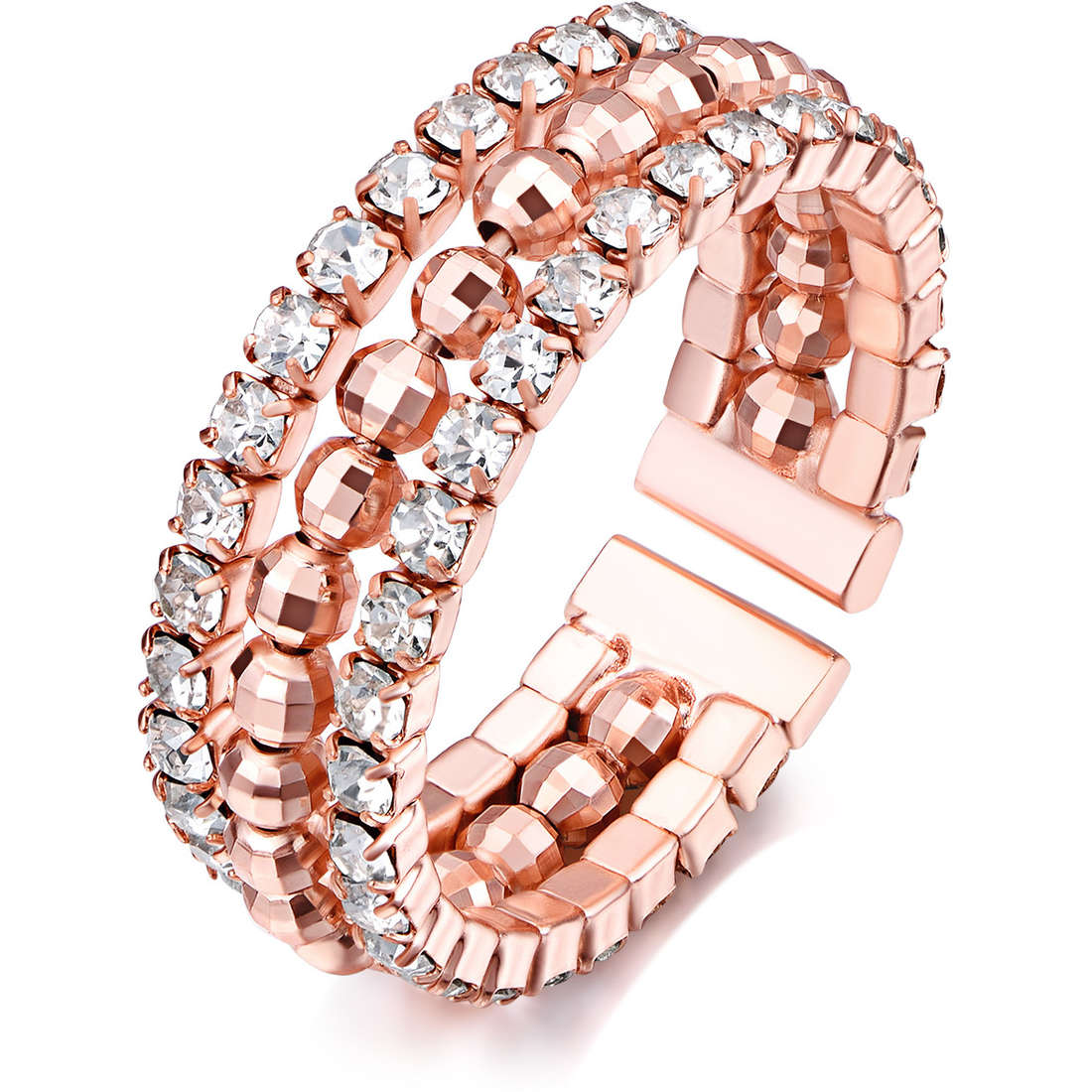 anello donna gioielli Luca Barra LBANK108