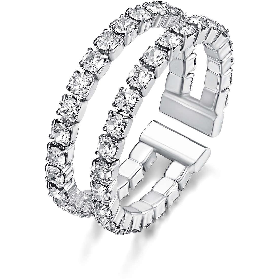 anello donna gioielli Luca Barra LBANK113