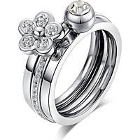 anello donna gioielli Luca Barra LBANK64.17