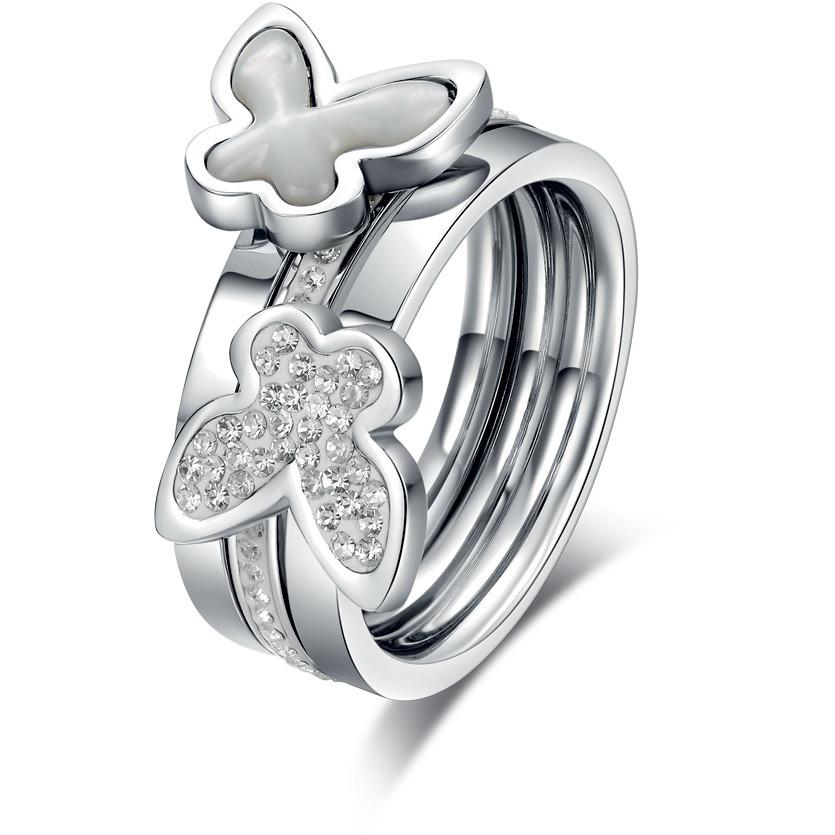 anello donna gioielli Luca Barra LBANK65.13