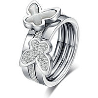anello donna gioielli Luca Barra LBANK65.15