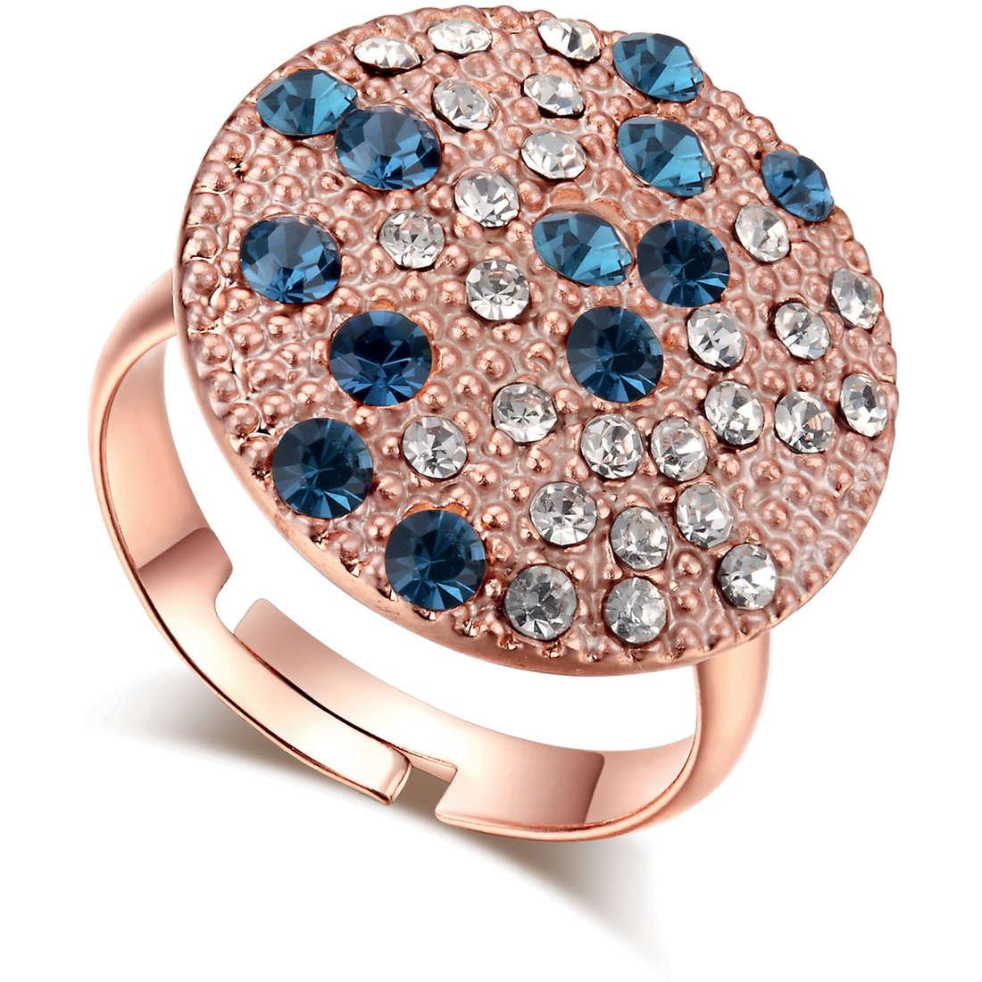 anello donna gioielli Luca Barra LBANK84