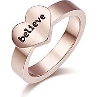 anello donna gioielli Luca Barra Love Is LBANK158.15