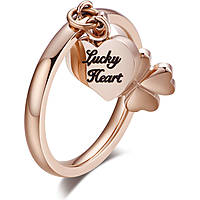 anello donna gioielli Luca Barra Love Is LBANK160.15