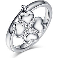 anello donna gioielli Luca Barra Lucky Mood LBANK129.19