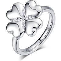 anello donna gioielli Luca Barra Lucky Mood LBANK131.13