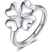 anello donna gioielli Luca Barra Lucky Mood LBANK131.15