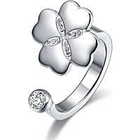 anello donna gioielli Luca Barra Lucky Mood LBANK133.17