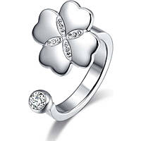 anello donna gioielli Luca Barra Lucky Mood LBANK133.19