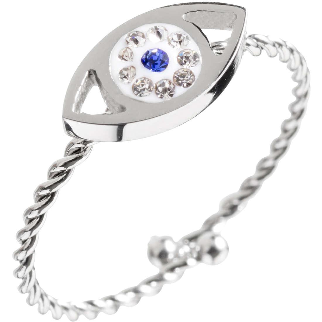 anello donna gioielli Marlù Mano Di Fatima 14AN037-S